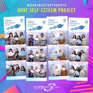 DOVE SELF-ESTEEM PROJECT by NAREMAX Photo Booth - Jasa PhotoBooth Murah