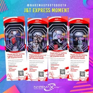 J&T EXPRESS MOMENT by NAREMAX Photo Booth - Jasa PhotoBooth Murah