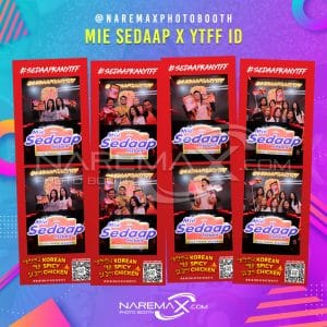 Mie Sedaap x YouTube Fanfest 2019 by NAREMAX Photo Booth - Jasa PhotoBooth Murah