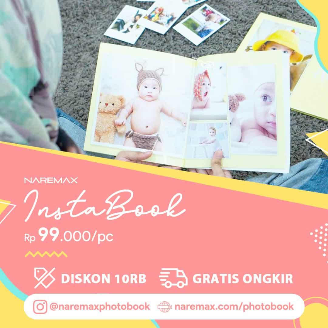 Banner Promo Cetak InstaBook Murah - Cetak PhotoBook Murah - NAREMAX Photo Book WV