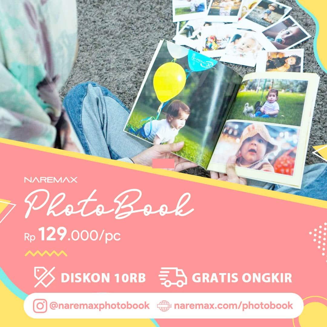Banner Promo Cetak PhotoBook Murah - Cetak InstaBook Murah - NAREMAX Photo Book WV